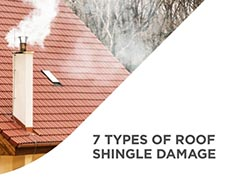 slideshow of seven types of roof shingle damage