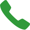 Image of a green telephone