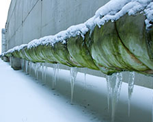 Six things to do when a frozen pipe bursts